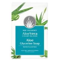 Aloe Excellence - Aloe Vera Glycerine Soap Handseife 100g hergestellt auf Gran Canaria - LAGERWARE