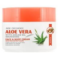Aloe Excellence - Aloe Vera with Argan Oil Nourishing 300ml Dose hergestellt auf Gran Canaria - LAGERWARE