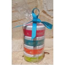 Aloe Excellence - Aloe Vera Face & Body Creme Geschenkset 4x 50ml Dose verschiedene Sorten hergestellt auf Gran Canaria - LAGERWARE
