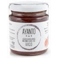 Ayanto - Mermelada de Higo Marmelade aus reifen Feigen mit Zimt 250g Glas hergestellt auf La Palma - LAGERWARE