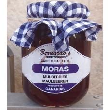 Bernardo's Mermeladas - Moras Confitura Maulbeerkonfitüre 240g hergestellt auf Lanzarote - LAGERWARE