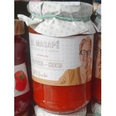 El Masapè - Mermelada Papaya-Coco 68% Fruta Papaya-Kokos-Marmelade 400g hergestellt auf La Gomera - LAGERWARE
