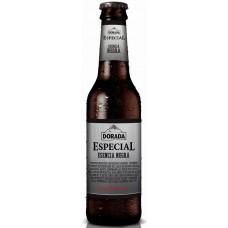 Dorada - Especial Esencia Negra Cerveza Bier 5,7% Vol. 330ml Glasflaschen hergestellt auf Teneriffa - LAGERWARE