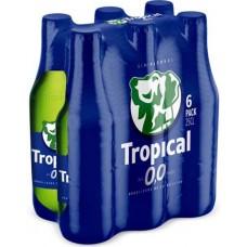 Tropical - 0,0 Cerveza Sin Alcohol alkoholfreies Bier 6x 250ml Glasflasche hergestellt auf Gran Canaria - LAGERWARE