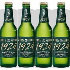 Tropical - 1924 Cerveza Premium Bier 6,4% Vol. 4x 330ml Glasflasche hergestellt auf Gran Canaria - LAGERWARE