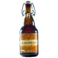Viva - La Morena Cerveza kanarisches Bier 5,5% Vol. 330ml Glasflasche inkl. Pfand hergestellt auf Gran Canaria - LAGERWARE
