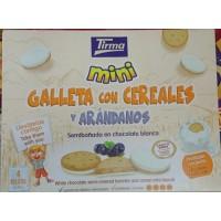 Tirma - Mini Galletas con cereales y arandanos 4x40g hergestellt auf Gran Canaria - LAGERWARE