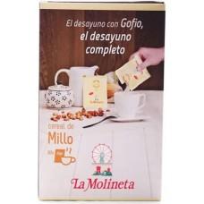 Gofio La Molineta - Cereal de Millo Gofio Maismehl geröstet für den Kaffee 30x 25g Portionstütchen hergestellt auf Teneriffa - LAGERWARE