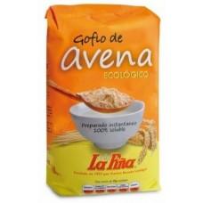 Gofio La Piña - Gofio de Avena ecologico Bio Gofio Hafermehl geröstet 450g hergestellt auf Gran Canaria - LAGERWARE