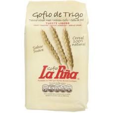 Gofio La Piña - Gofio de Trigo Weizen Tueste Ligero Weizenmehl geröstet 1kg hergestellt auf Gran Canaria - LAGERWARE