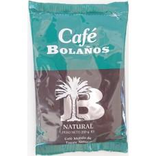 Cafe Bolanos - Cafe Molido de Tueste Natural Röstkaffee gemahlen 250g Tüte hergestellt auf Gran Canaria - LAGERWARE