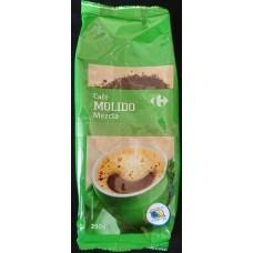 Carrefour - Cafe Molido Mezcla Röstkaffee gemahlen 250g Tüte hergestellt auf Gran Canaria - LAGERWARE