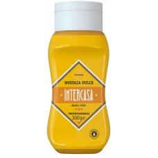 Intercasa - Mostaza Mustard Senf 300ml Quetschflasche hergestellt auf Gran Canaria - LAGERWARE