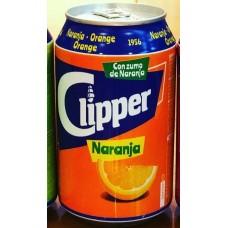 Clipper - Naranja Lemonada Orangenlimonade 8x 330ml Dose hergestellt auf Gran Canaria - LAGERWARE