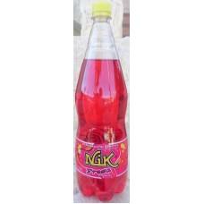 NIK - Fresa Lemonada Erdbeer-Limonade 1,25l PET-Flasche hergestellt auf Gran Canaria - LAGERWARE