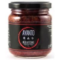 Ayanto - Mojo Rojo Suave Salsa 212ml Glas hergestellt auf La Palma - LAGERWARE