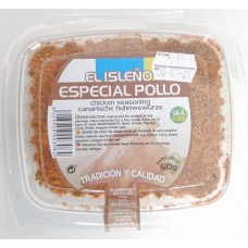 El Isleno - Especial Pollo kanarisches Gewürz für Hühnergerichte 60g hergestellt auf Teneriffa - LAGERWARE