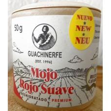 Guachinerfe - Mojo Rojo Suave Deshidratado Premium Gewürz getrocknet 50g Becher hergestellt auf Teneriffa - LAGERWARE