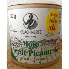 Guachinerfe - Mojo Verde Picante Deshidratado Premium Gewürz 50g Becher hergestellt auf Teneriffa - LAGERWARE