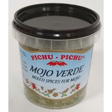 Pichu Pichu - Mojo Verde deshidratado 90g Becher hergestellt auf Gran Canaria - LAGERWARE