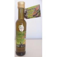 Teguerey - Aceite de Oliva Virgen Extra Seleccion Arbequina Hojiblanca Picual Olivenöl 250ml Glasflasche hergestellt auf Fuerteventura - LAGERWARE