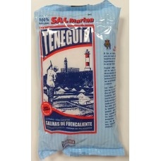 Sal Marina TENEGUIA - Sal Marina Gruesa grobes kanarisches Meersalz 1kg Tüte hergestellt auf La Palma - LAGERWARE