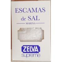 Zelva - Escamas de Sal Salz grob gekörnt 250g Karton hergestellt auf Gran Canaria - LAGERWARE