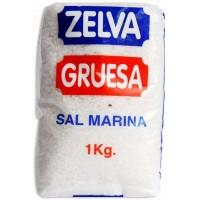 Zelva - Gruesa Marina Sal Meersalz 1kg hergestellt auf Gran Canaria - LAGERWARE