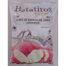 Batatito's - Gourmet Chips de Batata de Jable Lanzarote sin gluten Kartoffelchips 100g Tüte hergestellt auf Lanzarote - LAGERWARE