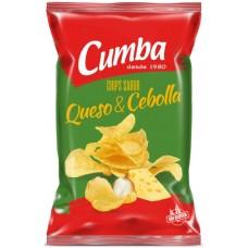 Cumba - Chips Queso y Cebolla kanarische Kartoffelchips Käse & Zwiebeln 150g hergestellt auf Gran Canaria - LAGERWARE