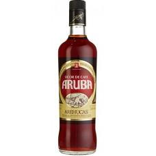 Arehucas - Aruba Licor de Cafe Kaffeelikör 24% Vol. 700ml hergestellt auf Gran Canaria - LAGERWARE