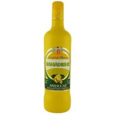 Arehucas - Banadrink Bananen-Cremelikör 700ml 17% Vol. hergestellt auf Gran Canaria - LAGERWARE