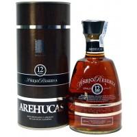 Arehucas - Ron Añejo Arehucas Reserva 12 anos 700ml 40% Vol. (Karton) hergestellt auf Gran Canaria - LAGERWARE