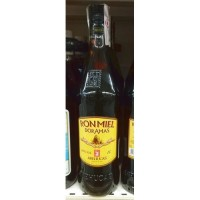 Arehucas - Ronmiel Doramas - Ron Miel - Honigrum 20% Vol. 1l hergestellt auf Gran Canaria - LAGERWARE