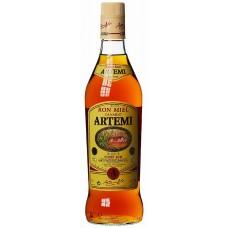 Artemi - Ronmiel Canario Ron Miel Honigrum 700ml 20% Vol. runde Glasflasche hergestellt auf Gran Canaria - LAGERWARE