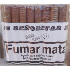Doble Tres - Senoritas 25 Puros Zigarren 25 Stück hergestellt auf Gran Canaria - LAGERWARE