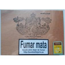 La Regenta Puros Num. 3 25 kanarische Zigarren in Holzschatulle von Gran Canaria - LAGERWARE