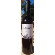 El Ratino - Bodega Tajinaste Vino Tinto Vinas Viejas Seleccion Rotwein trocken Eichenfassreifung 13,5% Vol. 750ml hergestellt auf Teneriffa - LAGERWARE