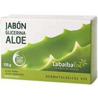 Tabaibaloe - Jabon glicerina Aloe Vera Handseife 125g hergestellt auf Teneriffa - LAGERWARE