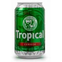 Tropical - Bier Cerveza Pilsen 4,7% Vol. 6x 330ml Dose Sechserpack hergestellt auf Gran Canaria - LAGERWARE