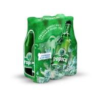 Tropical - Bier Cerveza Pilsen 4,7% Vol. 6x 250ml Glasflasche Sechserpack hergestellt auf Gran Canaria - LAGERWARE