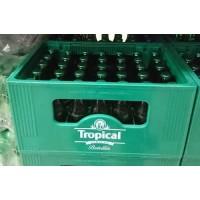 Tropical - Pilsen Cerveza Bier Kiste 35x 200ml Glasflasche 4,7% Vol. inkl. Mehrweg-Pfand hergestellt auf Gran Canaria - LAGERWARE