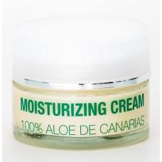 Alma de Canarias - Aloe Vera Moisturizing Cream Noche Gesichtscreme Nacht 50ml Glas hergestellt auf Lanzarote - LAGERWARE