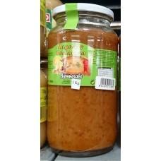 Argodey Fortaleza - Bienmesabe Mandelpaste Aufstrich 1kg Glas hergestellt auf Teneriffa - LAGERWARE