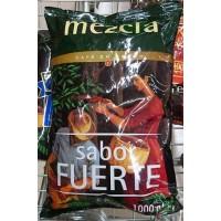 Hacendado - Cafe en Grano Mezcla sabor fuerte Nr. 4 50% natural 50% torrefacto Bohnenkaffee geröstet 1kg Tüte hergestellt auf Teneriffa - LAGERWARE
