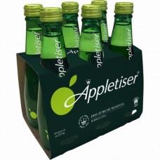 Appletiser - Apfelschorle Apfelsaft mit Kohlensäure 6x 275ml Glasflasche