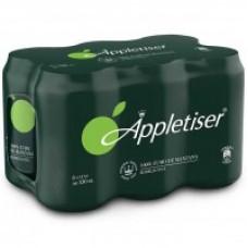 Appletiser - Apfelschorle Apfelsaft mit Kohlensäure 330ml Dose im 6er-Pack hergestellt auf Teneriffa LAGERWARE