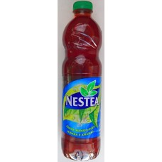 Nestea Mango y Pina - exclusivo Canario Eistee Mango-Ananas PET-Flasche 1,5l hergestellt in Tacoronte Teneriffa - LAGERWARE