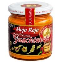 Guachinerfe - Mojo Rojo Picante rote scharfe Mojosauce 235ml hergestellt auf Teneriffa - LAGERWARE