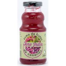 Valsabor - Zumo de Tuno Indio Canario Kaktusfeigen-Saft Flasche 200ml hergestellt auf Gran Canaria - LAGERWARE